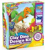 Clay Dino Design Kit- Build 3 Dinosaur Figures