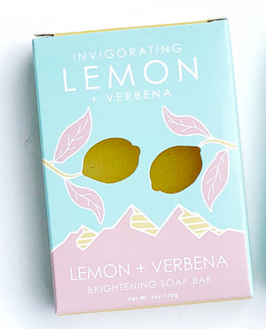 Natural Elements Soap- Lemon & Verbena- Invigorating