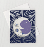 Birthday Moon Card