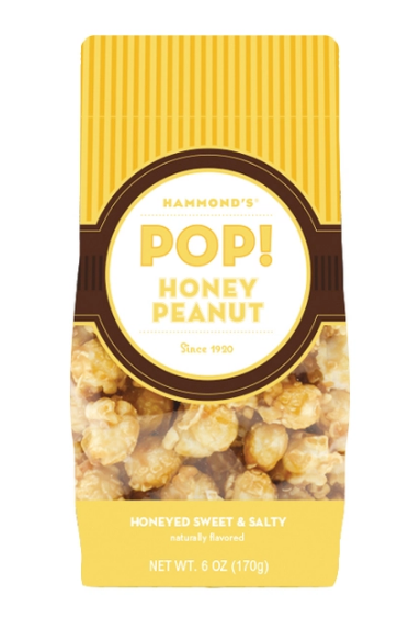 Honey Peanut Popcorn