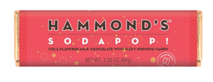Soda Pop Hammond's Candy Bar