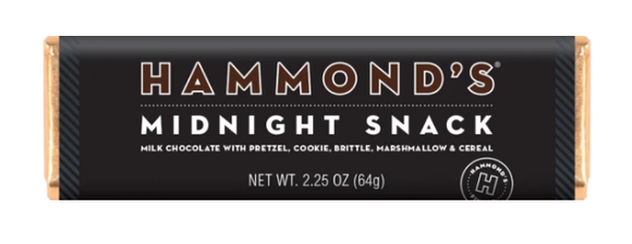 Midnight Snack Hammond's Candy Bar