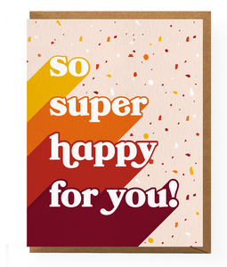 So Super Happy Card