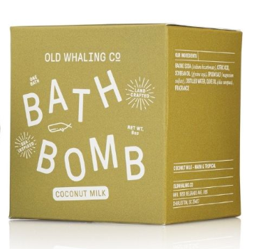Bath Bomb- Coconut Milk