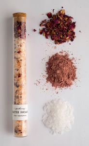 Bath Soak Test Tube- Rose Sandalwood