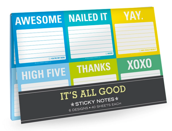 It's All Good Sticky Notes Packet