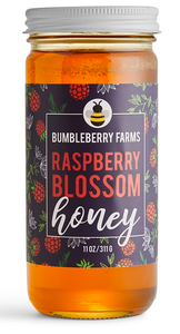 Pure Raspberry Blossom Honey
