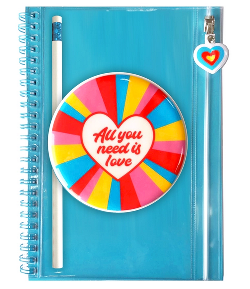 All You Need is Love Pencil Pouch Journal