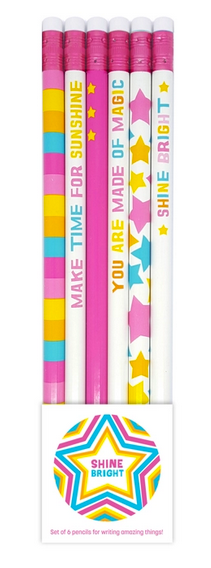 Shine Bright Pencil Set