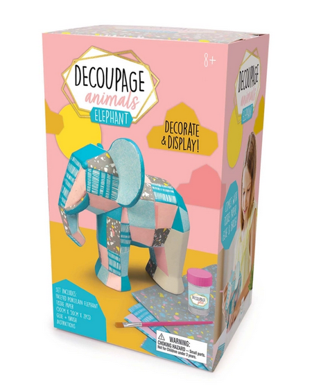 Decoupage Animals Elephant