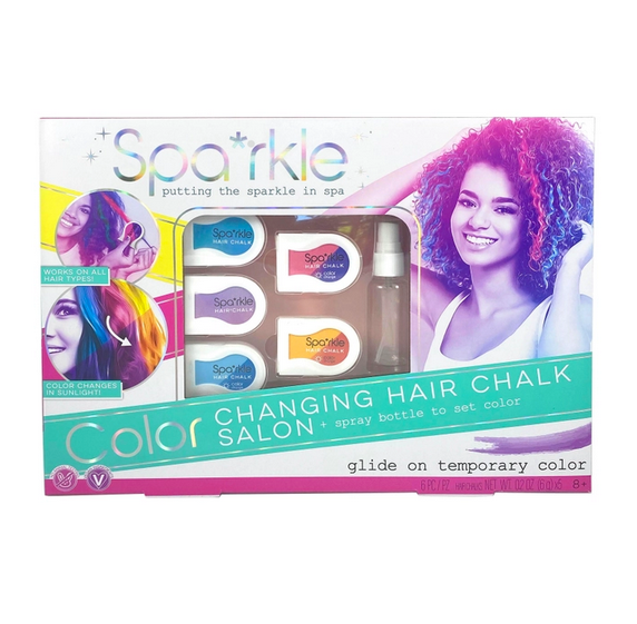 Spa*rkle Color Changing Hair Chalk Set