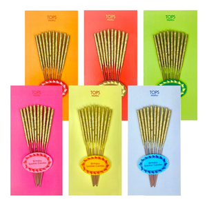 Mini Birthday Sparkler Candles- 10 Count
