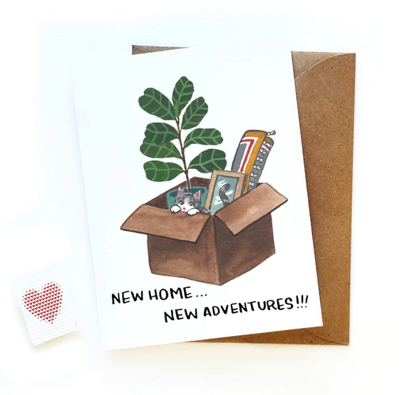 New Home New Adventures Card
