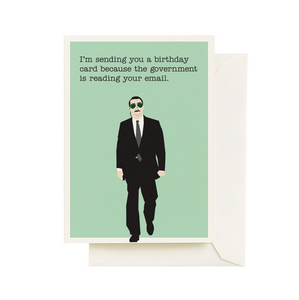 Govt Spy Birthday Cards
