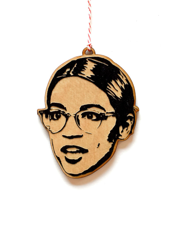 AOC Wooden Ornament