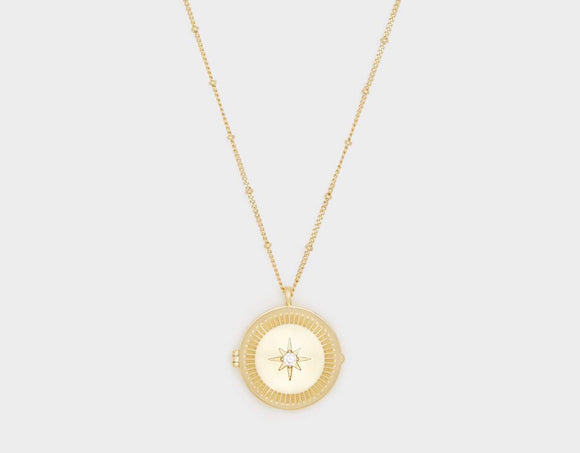 Stellar Locket Necklace