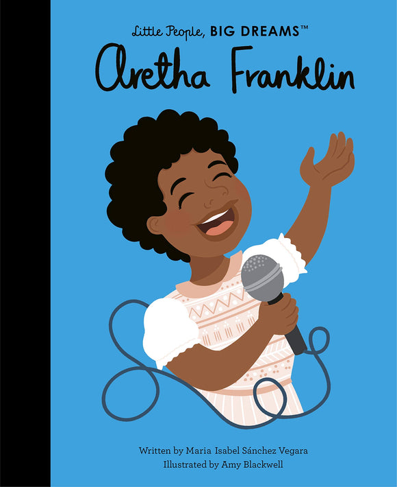 Aretha Franklin Little People Big Dreams Book