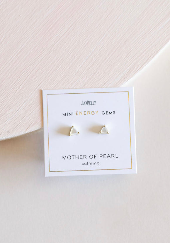 Mother of Pearl Mini Energy Gems - Calming
