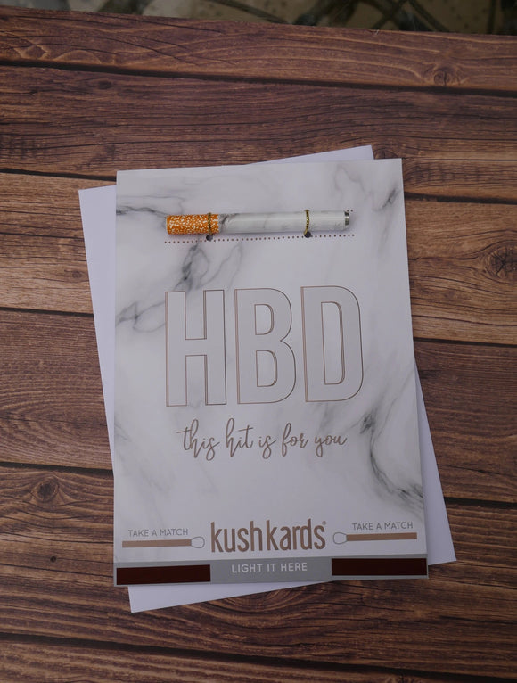 HBD One Hitter Card