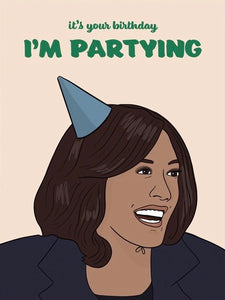 Kamala I'm Partying