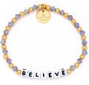 Believe- Gold Filled And Crystal