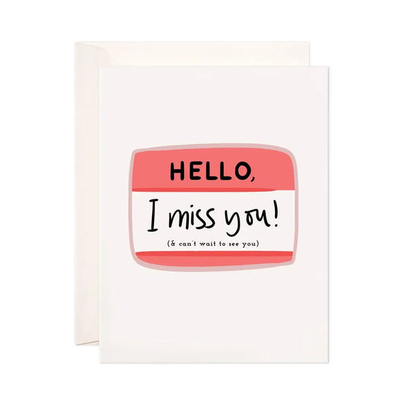 Hello IMY Greeting Card