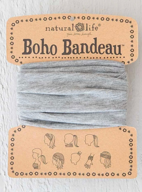 Heather Grey Boho Bandeau