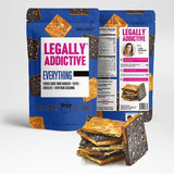 Legally Addictive Everything Cracker Cookies