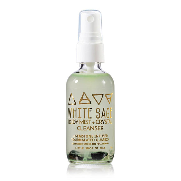 White Sage Mist Body & Crystal Cleanser
