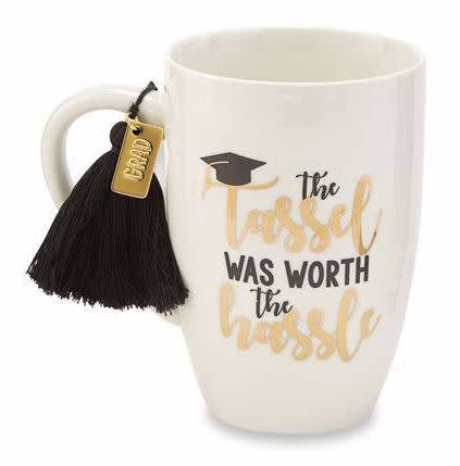 Tassel Was Worth The Hassel Graduation Mug