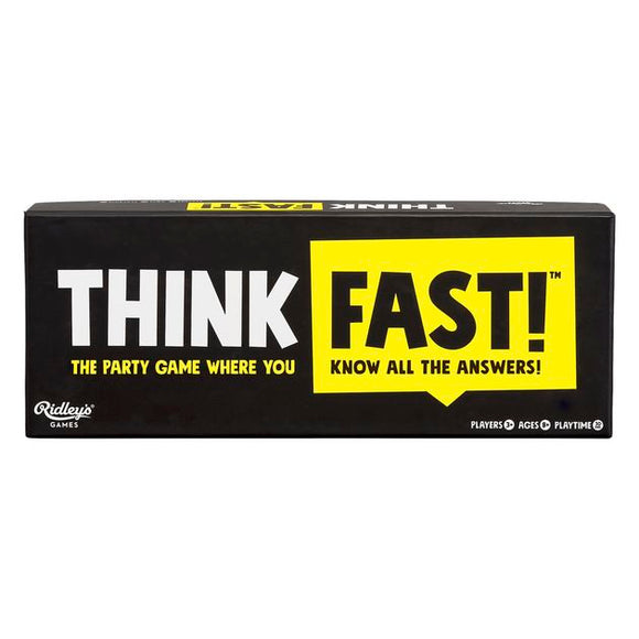 Think Fast Party Game