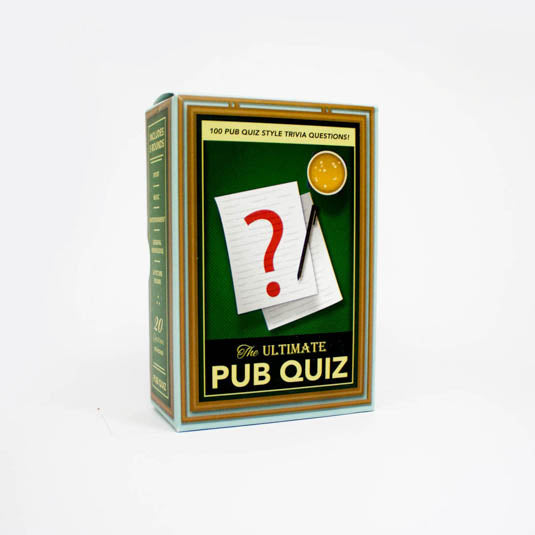 Pub Quiz Trivia Game