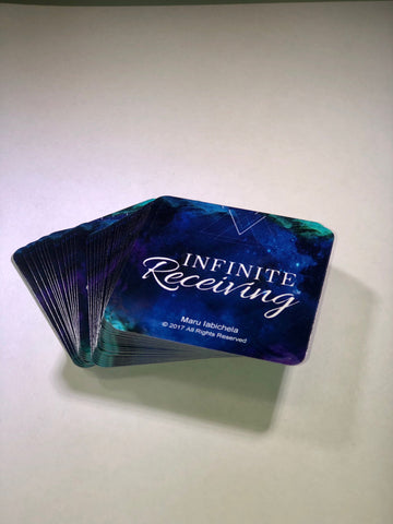 Infinite Receiving Card Deck - My Capacity to Receive... Deck