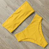 L´bandeau Solid Yellow