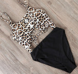 The Animal Print Monokini