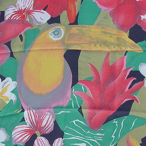 VINTAGE TOUCAN SCARF