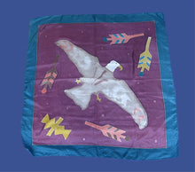 CHICO'S SILK EAGLE SCARF