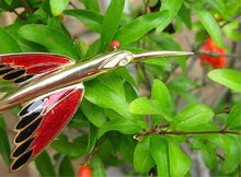 SIMPLY SLEEK HUMMINGBIRD PIN