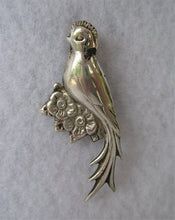 STERLING SILVER QUETZAL PIN FROM MEXICO