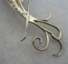 ELEGANT STERLING SILVER BIRD OF PARADISE PIN