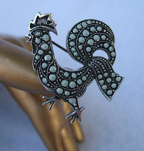 ROOSTER SCATTER PIN SET FROM GERMANY