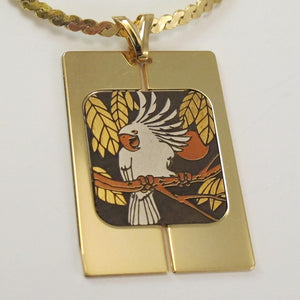 VINTAGE NEW COCKATOO NECKLACE