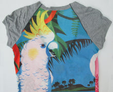CUSTO BARCELONA COCKATOO TEE SHIRT SIZE SMALL