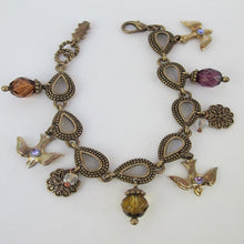 FLYING BIRD CHARM BRACELET