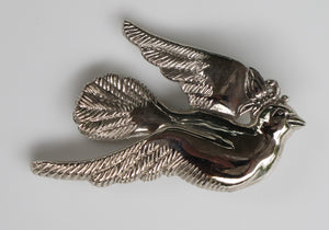JOHN HARDY DOVE AND BUTTERFLY TIE OR DRESS CLIP