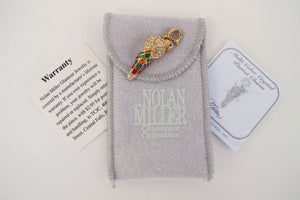 NOLAN MILLER GLAMOUR COLLECTION PARROT CHARM