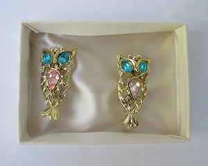 KITSCH OWL PIN PAIR