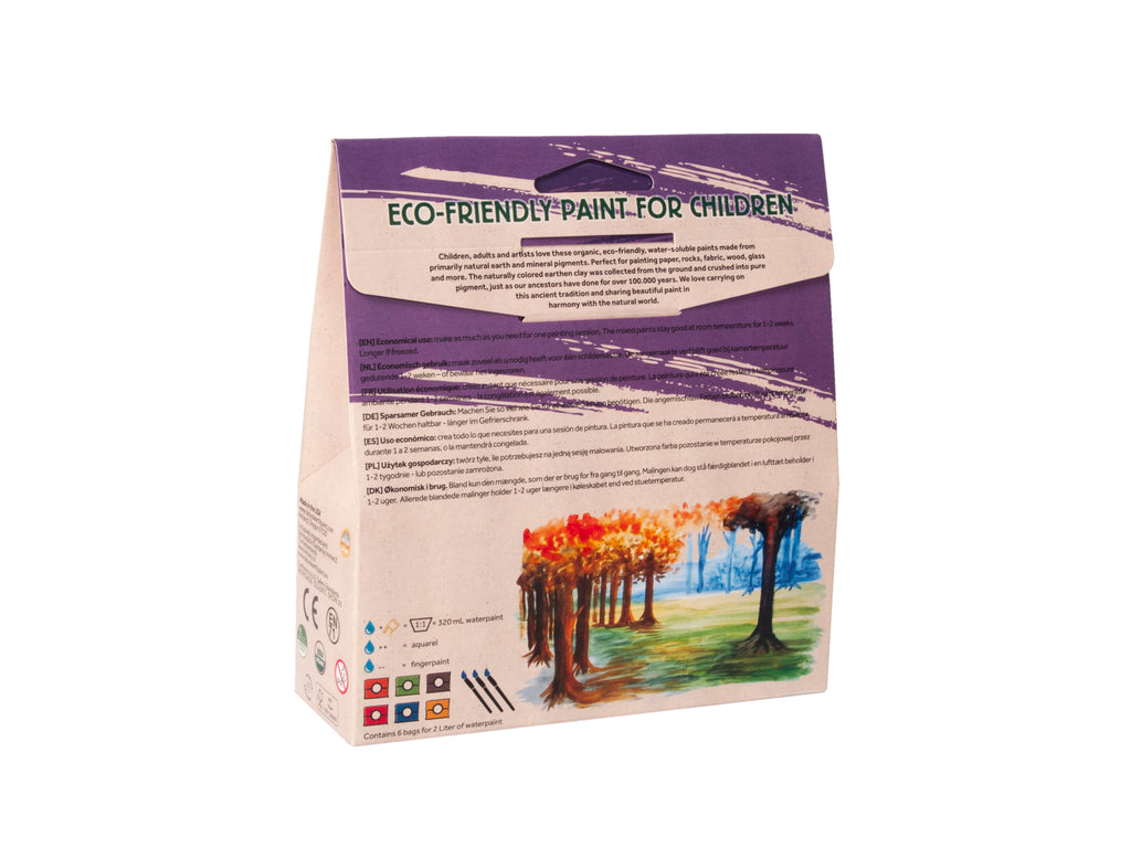 Natural Earth Paint - Deneyim Seti - 2L