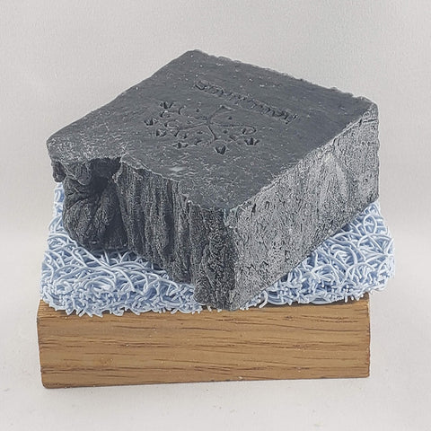 Black Charcoal Soap - Essential Oil Blend, great for facial soap - Stacy's Soap Suds