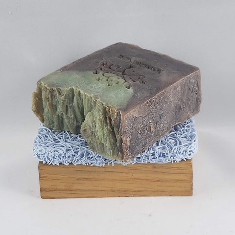 Into the Woods - Oakmoss and Amber Scent Soap - Unisex for him and for her - Stacy's Soap Suds
